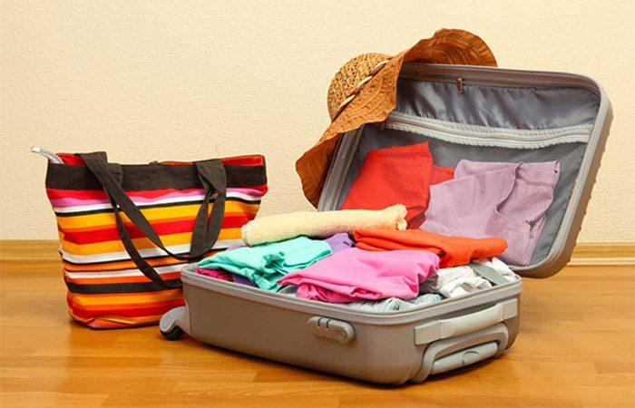 จัดกระเป๋าไปเที่ยวต่างจังหวัด